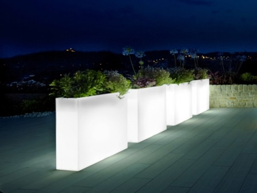 Urban Illuminated Trough Planter Passion For Pots