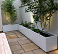 Powder Coated Steel Planters