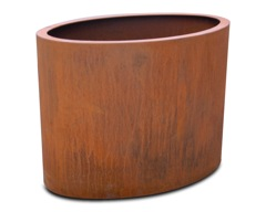 Oklahoma Oval Steel Planter