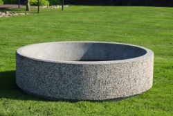 Berlin Concrete Round Planter