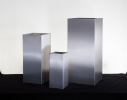 Elemental Premium Galvanised Tall Steel Cube