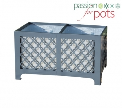 Renaissance Powder Coated Trough Planter