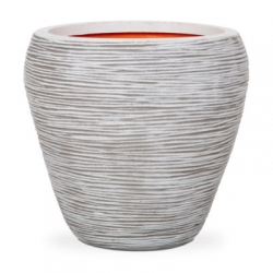 New Urban Texture-Lite Ribbed Tapered Vase