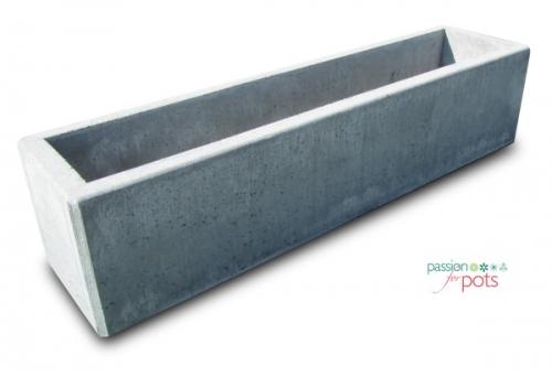 Perfect Berlin Rectangular Concrete Planter
