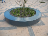New Urban Seat Planter