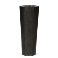 Terrazzo Tall Slim Tapered  Planter