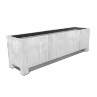 Elemental Premium Steel Trough with Feet