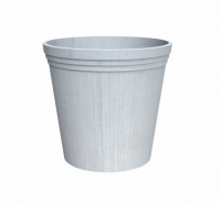 Elemental Premium Steel Round Tapered Planter
