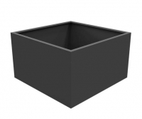 Astor Aluminium Low Cube Planter