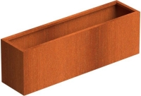 Elemental Corten Trough Planter