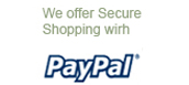 Shop Securely With PayPal